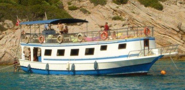 Bodrum Diving Boat Turkey