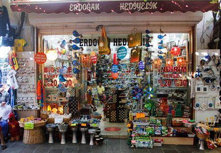 Gift Shopping Bodrum Turkey Souvenirs