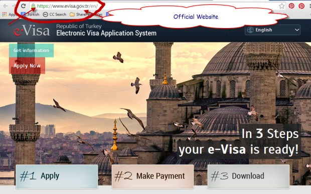 Apply for e Visa Turkey for your holiday visa application
