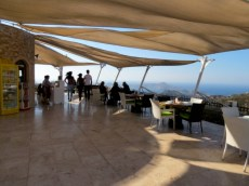 View from MMK Yeldegirmeni Cafe Windmill Cafe Yalikavak
