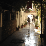 Bodrum Back Streets in Winter