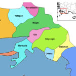 Mugla Province Map