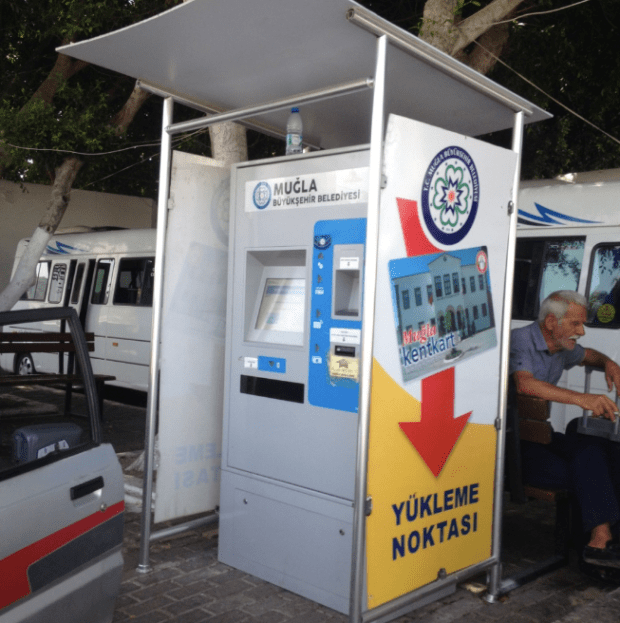 Kent Card Kiosk at Bodrum Bus Station