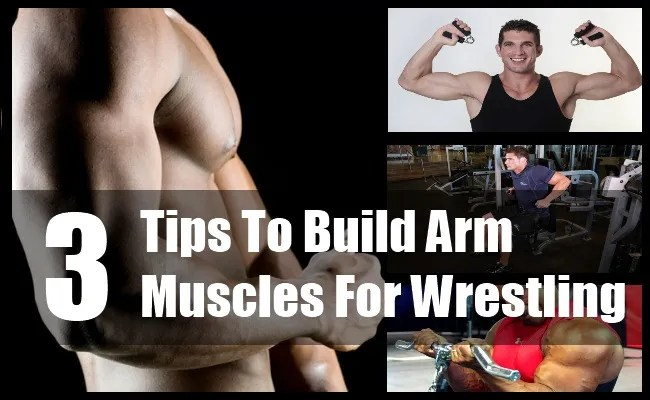 Arm Muscles For Wrestling