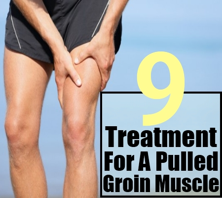 9 Treatment For A Pulled Groin Muscle