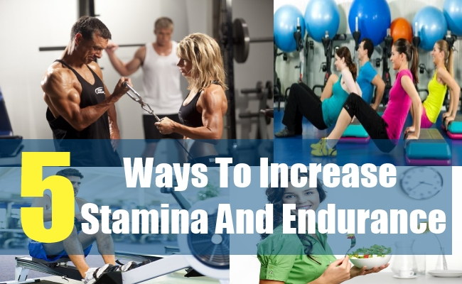 how to build stamina strength and endurance