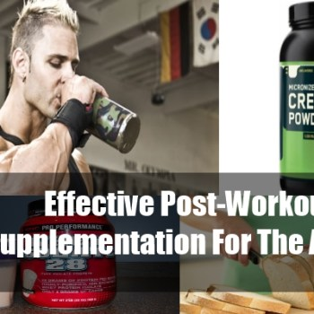 5 Effective Post-Workout Supplementation For The Athlete
