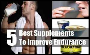 Supplements To Improve Endurance