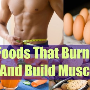 9 Foods That Burn Fat And Build Muscles