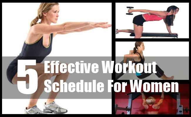 Workout Schedule For Women