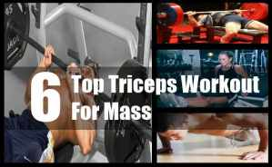 Triceps Workout For Mass
