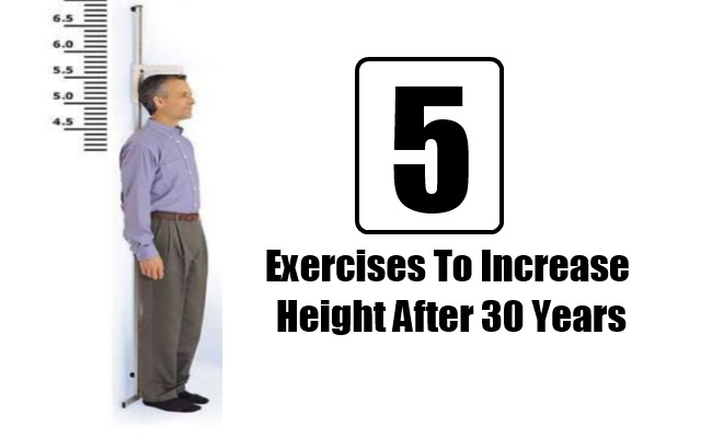 5 Effective Exercises To Increase Height After 30 Years