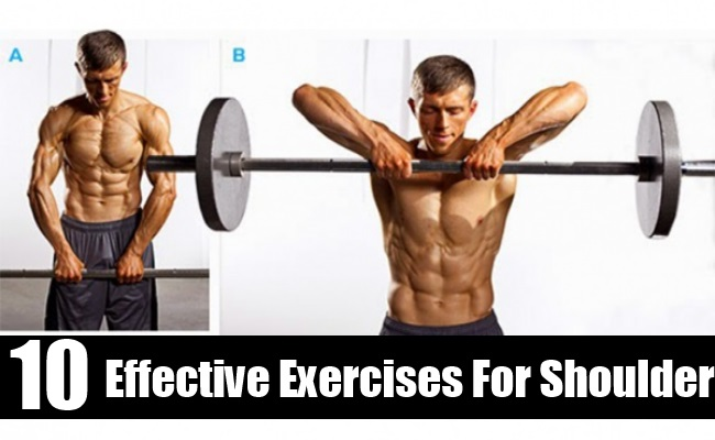 10 Effective Exercises For Shoulder Rehabilitation And Bursitis