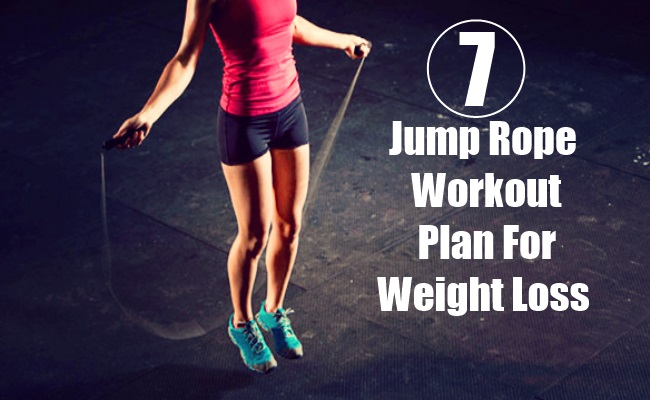 Jump Rope Workout Plan for Weight Loss | BodyBuilding eStore