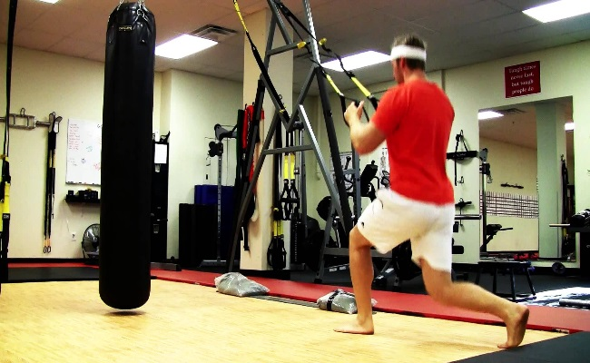 TRX Modified Lunges