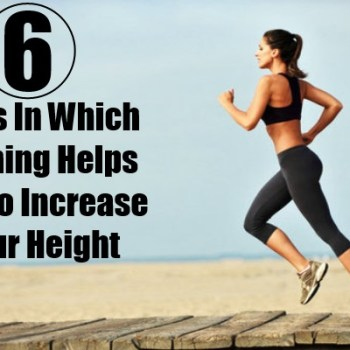 Ways In Which Running Helps You To Increase Your Height
