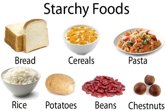 Starches And High Glycemic Fruits