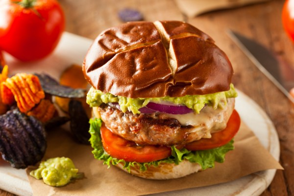 veggie turkey burger