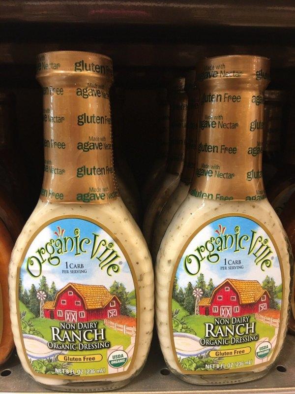 salad dressing organicville