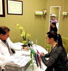 Dr. George Herrera Body Rx speaks to patient