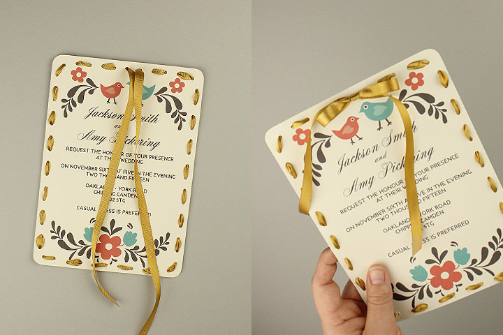 DIY Tutorial FREE Printable Invitation and RSVP Card Template - free printable wedding rsvp cards
