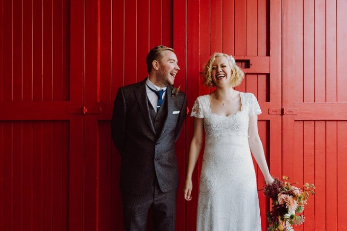 Laura and Martin's Food Loving Autumnul Edinburgh Wedding By Babb Photo