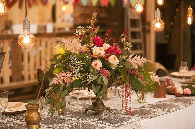 Bohemian Luxe Tipi Inspiration from the Curated Wedding Creatives