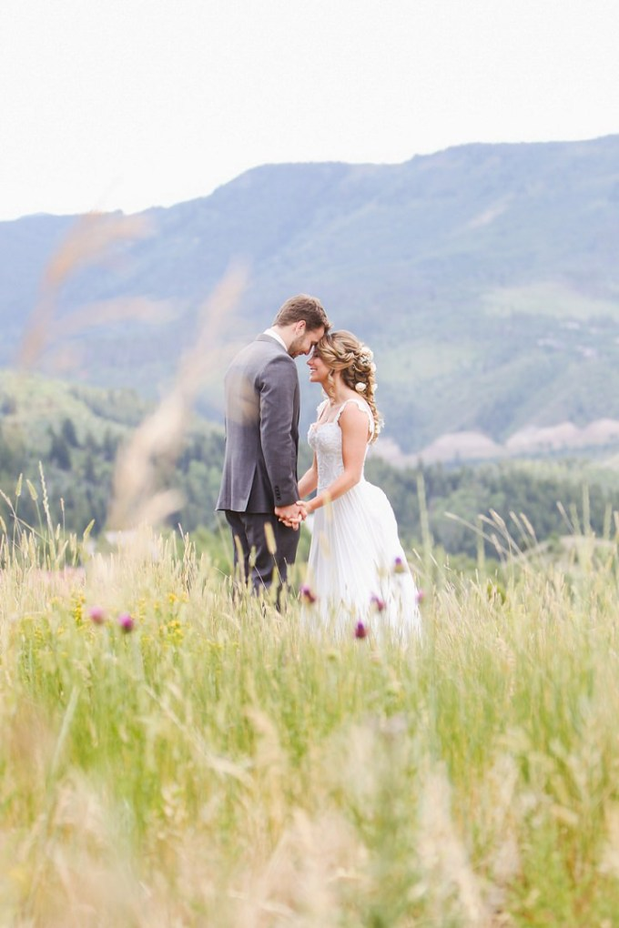 Ashley and Nathan's Sunflowers and Butterfly?s Garden Wedding in Colorado by Elevate Photography
