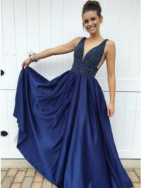 Dark Blue Prom Dress | www.pixshark.com - Images Galleries ...