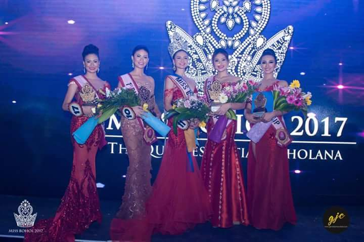 Winners of Miss Bohol Sandugo 2017