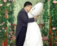Man marries body pillow girlfriend in Korea / Boing Boing