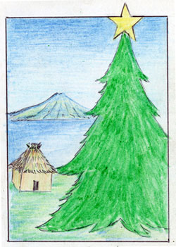 Christmas Cards from a Mayan Village in Guatemala
