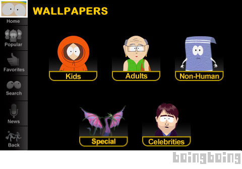 Sweet Wallpapers For Iphone Bb Exclusive Sneak Peek At South Park S Sweet Yet