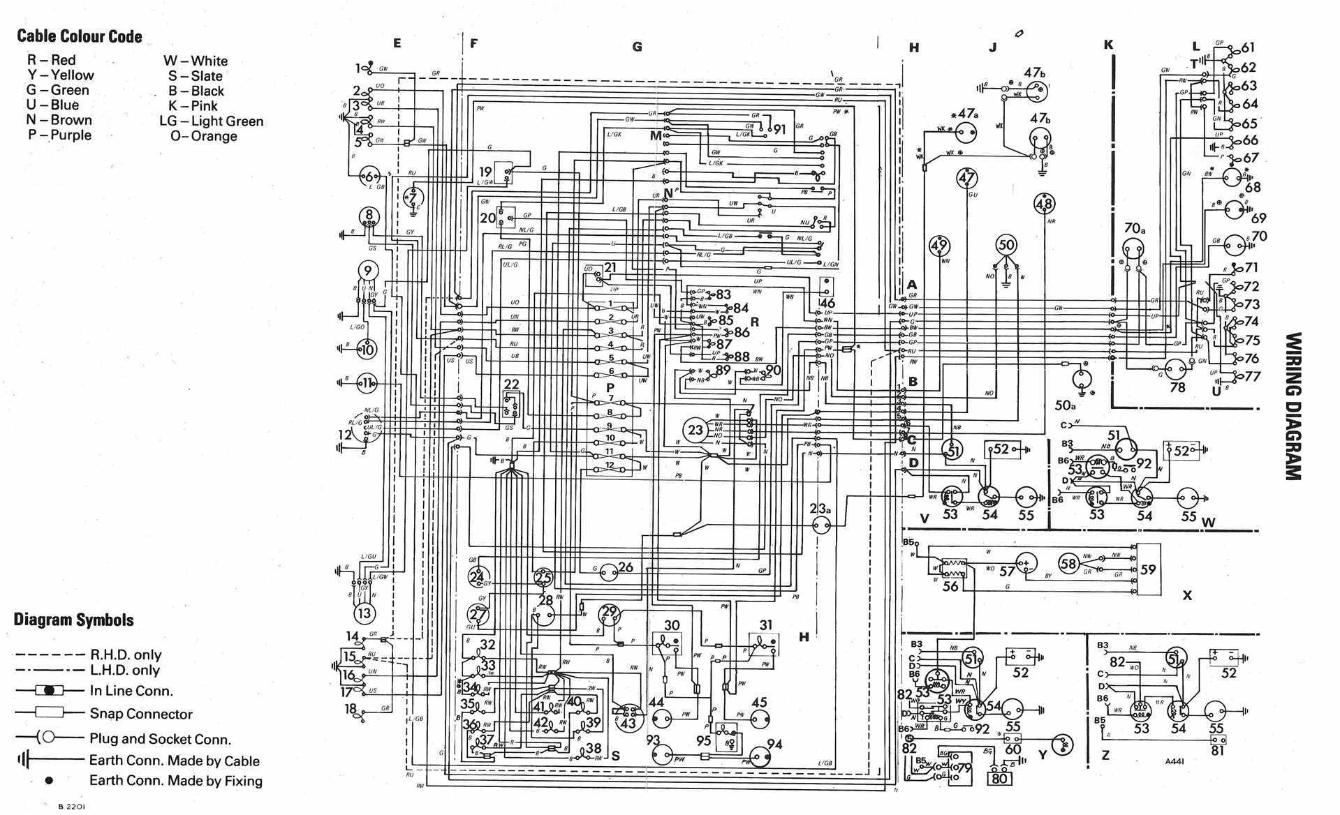 vw golf fuse box diagram mk4