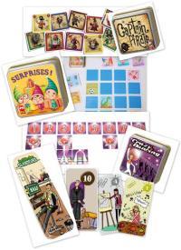 Les Nouveautés Cocktail Games, Captain Pirate, Surprises, Crazy Dancing et La folie des glandeurs
