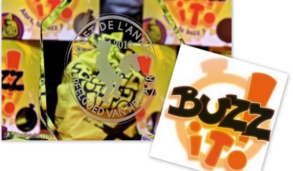 Buzz It Jouet de l année 2010 en Belgique