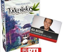 Bel RTL All Access Takenoko Julien Sturbois