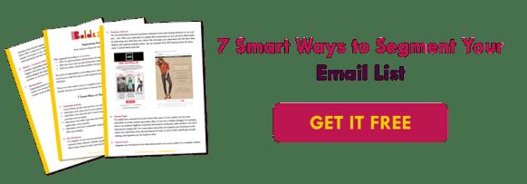 7 Smart Ways To Segment Email List | Email Marketing Strategies