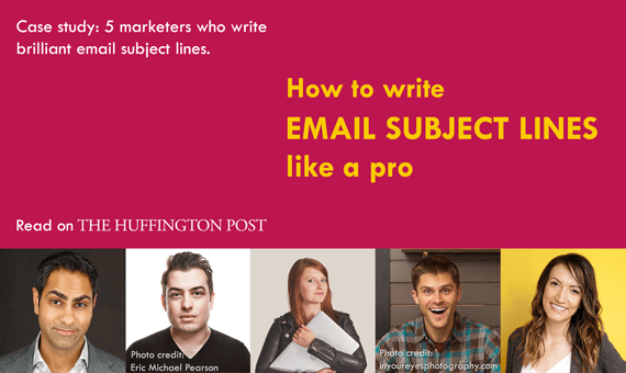 How to write a good subject line? Email marketing masters examples: Ramit Sethi, Derek Helpern, Mariah Coz, Charlie Hoehn and Melyssa Griffin