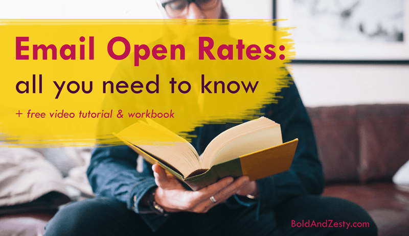 "Email Open Rates: all you need to know. If you want to increase open rates for your email rates, you need to look deeper than subject lines. Open rates depend on a multitude of factors, including email cover (""from"" name, preview text and subject line), send time, list quality, and the content that you deliver. Learn how to optimize each of these factors and be on your way to email marketing mastery!"