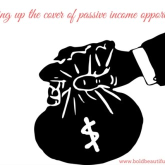 blowing up the cover of passive income opportunities for newbies