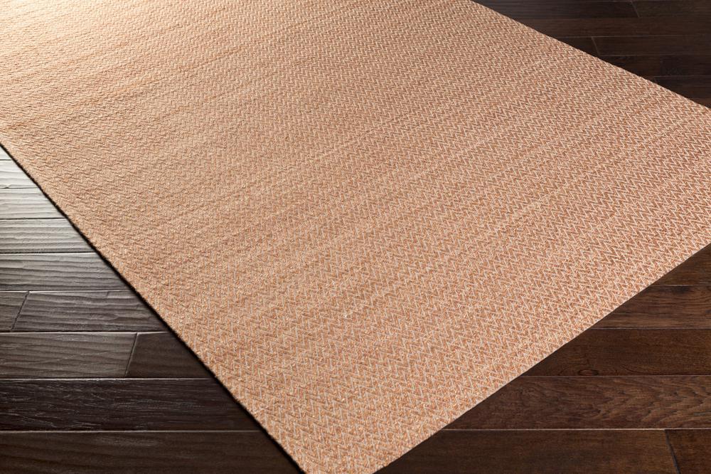 Surya Drift Wood Drf3005 Orange Area Rug Free Shipping