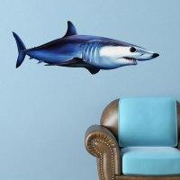 Shortfin Mako Shark Wall Decal - Bold Wall Art