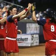 US Softball Avenges Soccer World Cup Loss, Beats Japan