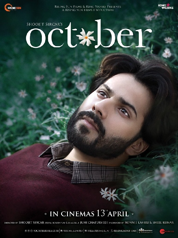 October FIRST POSTER out! Varun Dhawan looks lost as he lazes in a - lost person poster