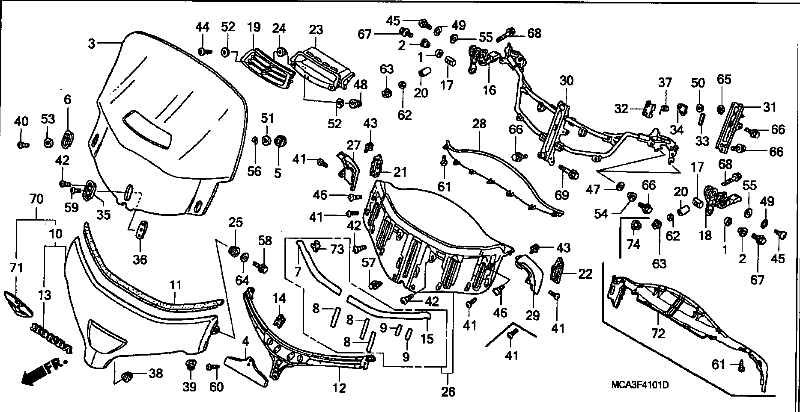 honda valkyrie electrical schematic