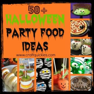 50+ halloween party foods