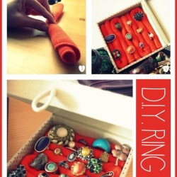 Pretty DIY Ring Box