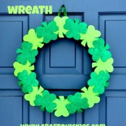 Lucky Clover Wreath