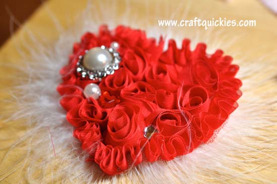 Shabby Heart Headband Tutorial 3